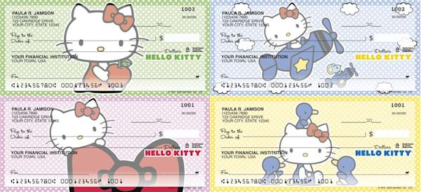 Hello Kitty Checkbook