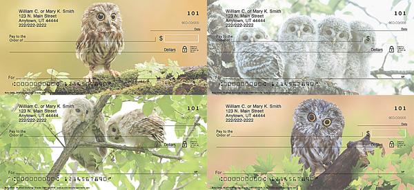 Baby Owls Checks
